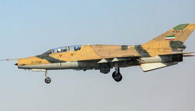 پرندههای تیز پرواز ایران / هواپیماهای شکاری بمب افکن نیروی هوایی ارتش را ببینید