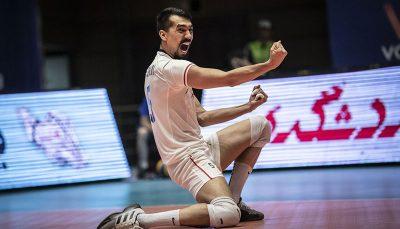 پیروزی الریان با حضور قائمی در لیگ والیبال قطر