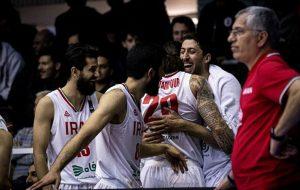 پیروزی سخت بسکتبال ایران برابر عربستان