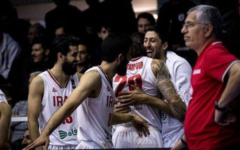 پیروزی سخت بسکتبال ایران برابر عربستان تیم ملی عربستان, تیم ملی بسکتبال ایران