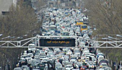 کاهش ۵۰ درصدی ترددها در پایتخت