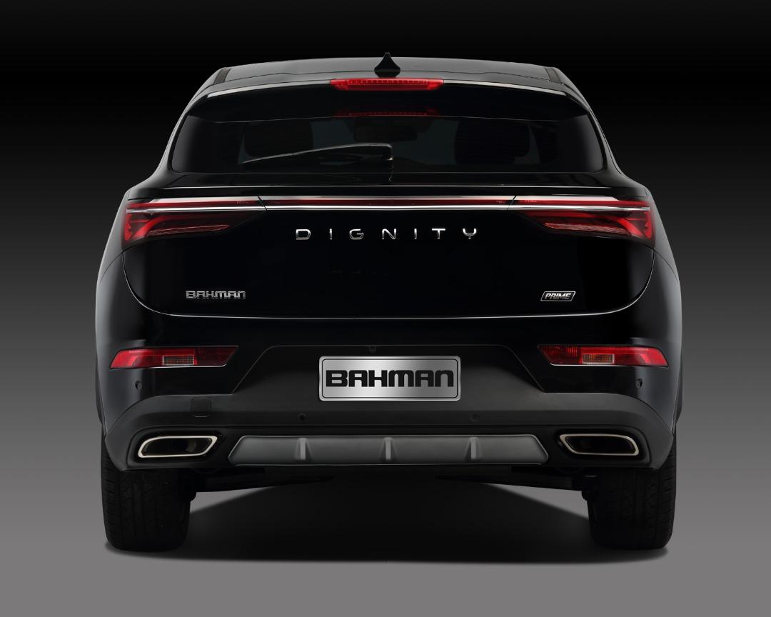 """مشخصات فنی و تجهیزات رفاهی خودروی """"دیگنیتی"""" رسما اعلام شد/ عکس"""