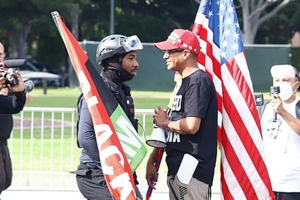 13990811000409 Test PhotoL اعتراضات انتخاباتی, بورلی هیلز, انتخابات آمریکا
