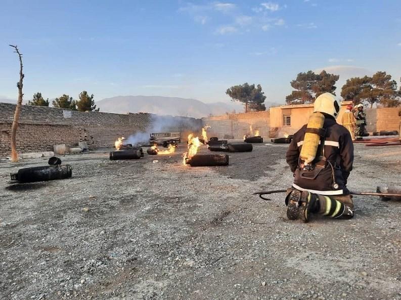 13990827165958452216299510 آتشسوزی کپسولهای گاز مایع, جاده مخصوص کرج