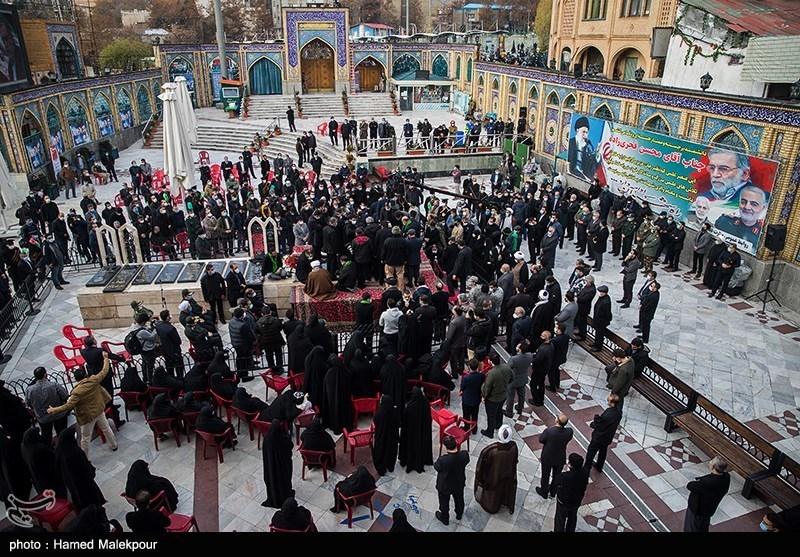 1399091014220481921721014 شهید محسن فخریزاده, امامزاده صالح(ع), تشییع و خاکسپاری
