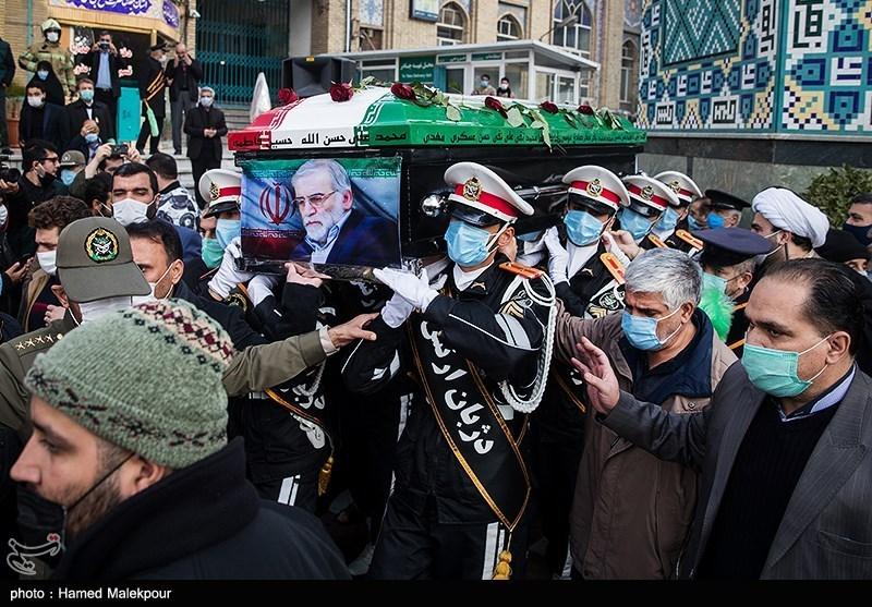 139909101505307521722104 شهید محسن فخریزاده, امامزاده صالح(ع), تشییع و خاکسپاری