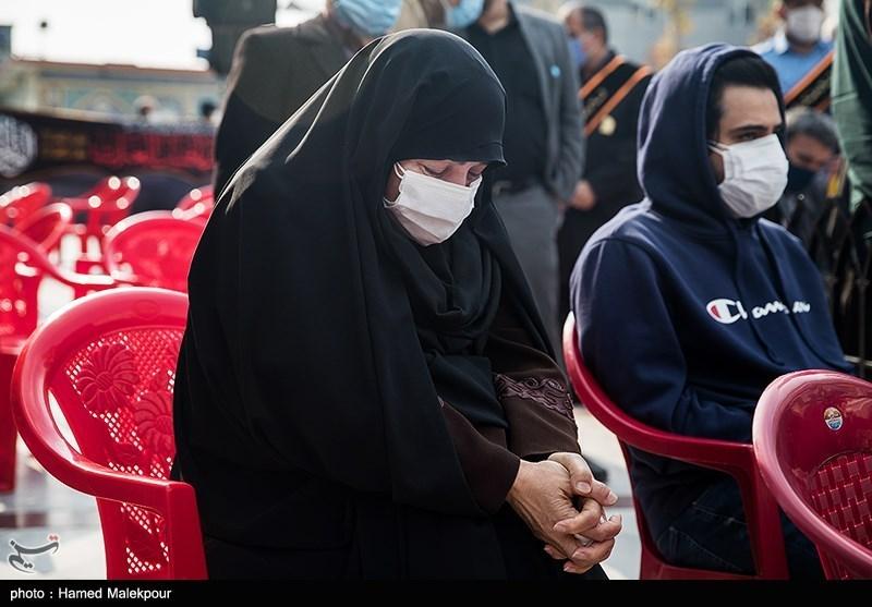 1399091015395212721722984 شهید محسن فخریزاده, امامزاده صالح(ع), تشییع و خاکسپاری
