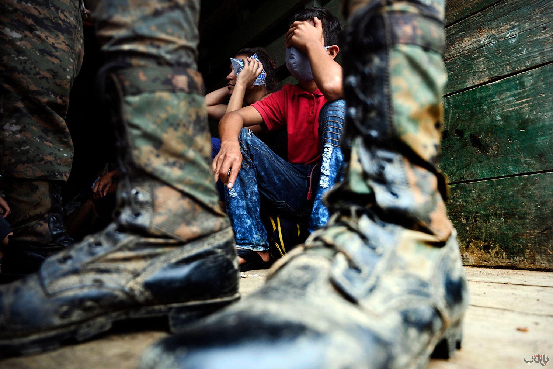 Honduras Migrants GettyImages 1228856620 برترین عکس های رسانه ای جهان, بهترین عکس خبری, بهترین عکس های جهان, گزارش تصویری