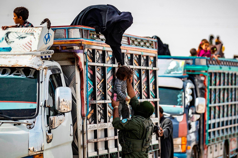 Islamic State Syria Kurds GettyImages 1229326102 برترین عکس های رسانه ای جهان, بهترین عکس خبری, بهترین عکس های جهان, گزارش تصویری