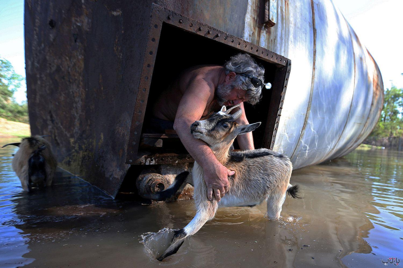 Louisiana Hurricane Delta 2020 10 10T000000Z 700249689 RC2SFJ9Q1XQA RTRMADP 3 STORM DELTA برترین عکس های رسانه ای جهان, بهترین عکس خبری, بهترین عکس های جهان, گزارش تصویری