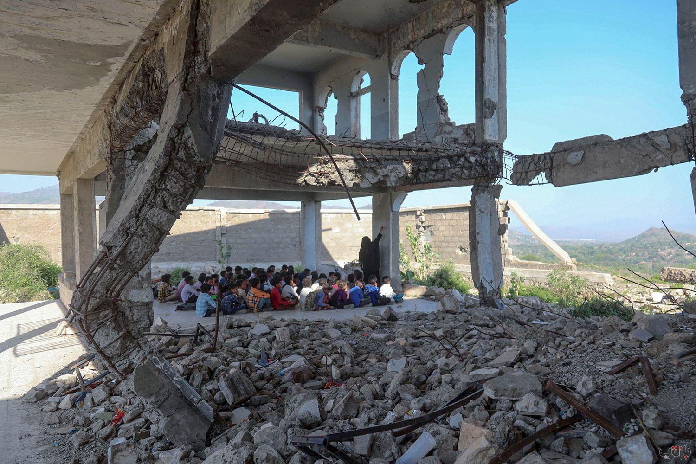 Yemen Students GettyImages 1228939847 برترین عکس های رسانه ای جهان, بهترین عکس خبری, بهترین عکس های جهان, گزارش تصویری