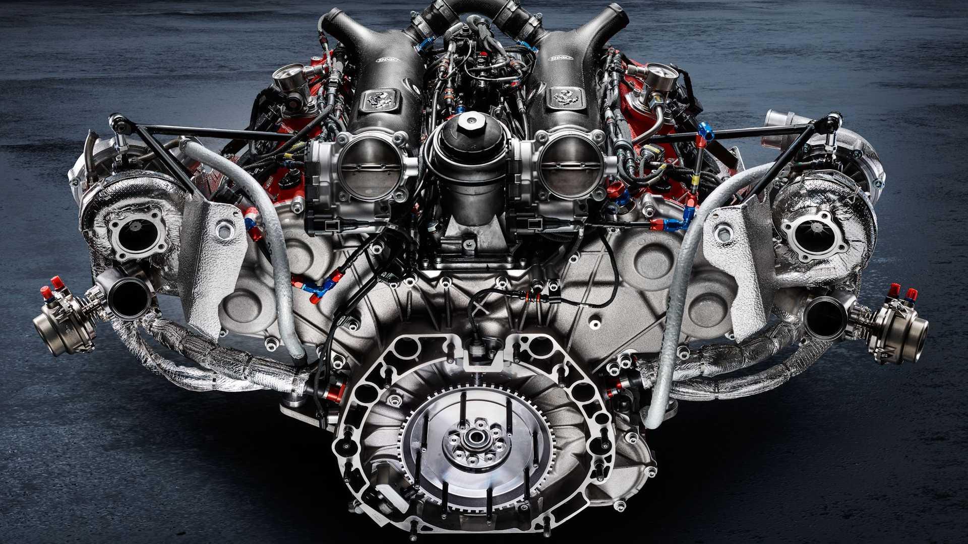 ferrari 488 gt modificata engine 1 فراری 488GT