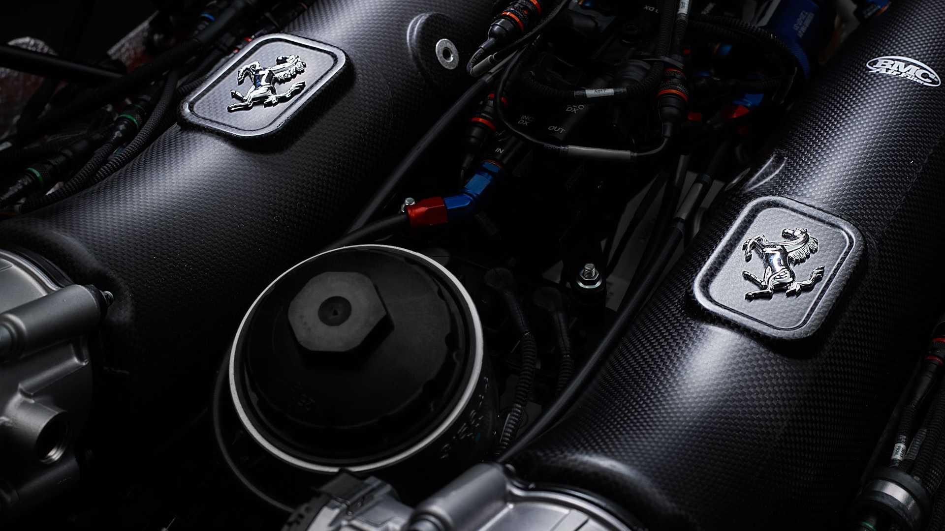 ferrari 488 gt modificata engine 2 فراری 488GT