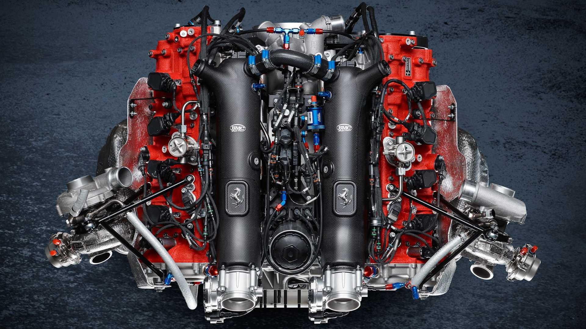 ferrari 488 gt modificata engine فراری 488GT