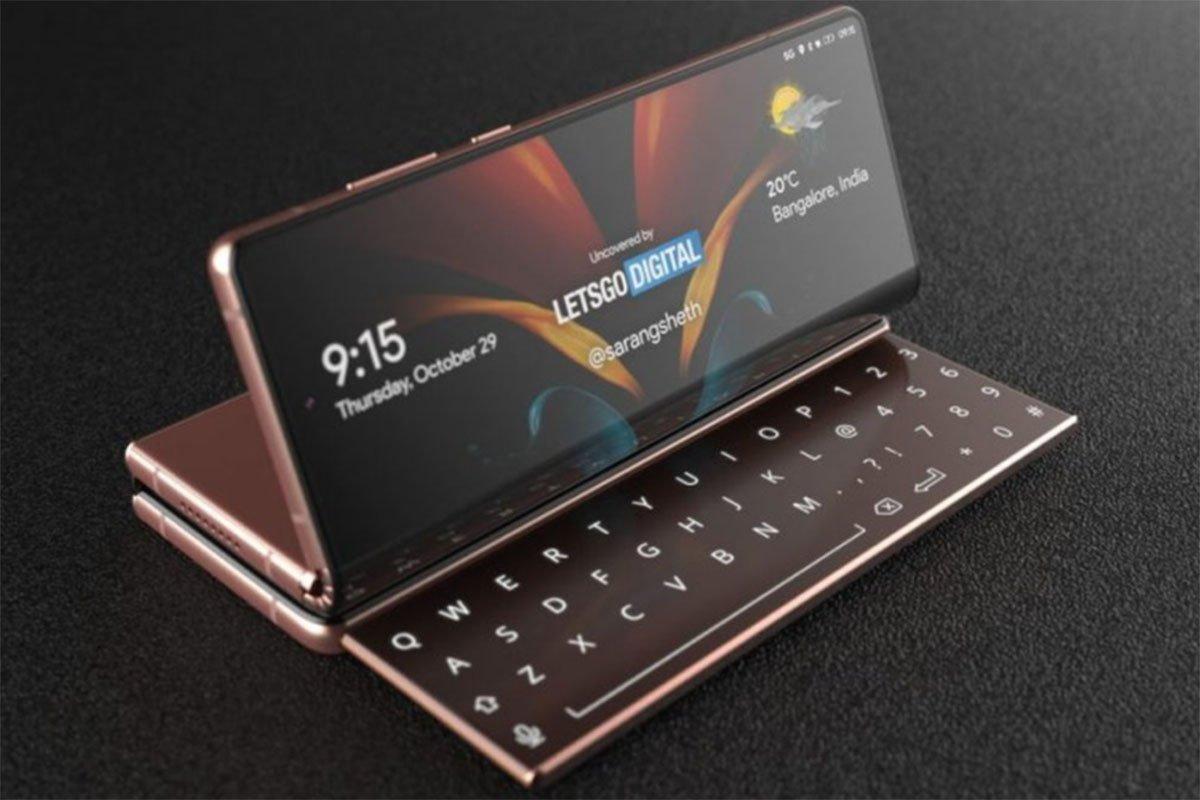 foldable 1 پتنت جدید سامسونگ, گوشی هوشمند