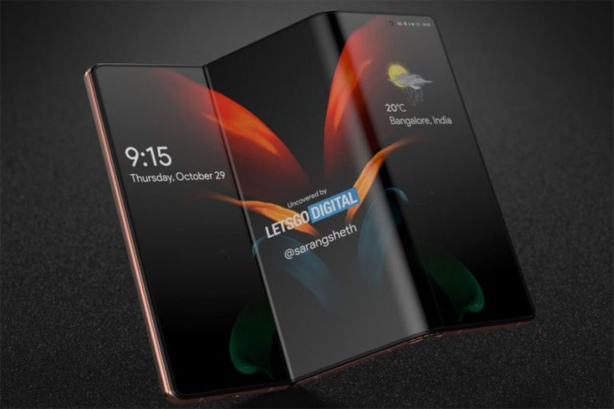 foldable 3 پتنت جدید سامسونگ, گوشی هوشمند