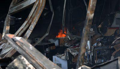 آتشسوزی در کرج ۲ کشته و یک مصدوم برجای گذاشت اغذیهفروشی, آتشسوزی