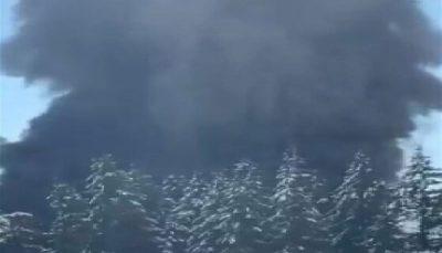 آتش سوزی گسترده در واشنگتن در پی انحراف قطار حامل نفت انحراف قطار حامل نفت, واشنگتن, آتش سوزی