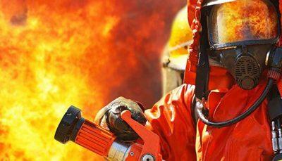 آتش شبانه در برج خیابان مهستان در شهرک غرب