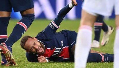 آسیب دیدگی شدید نیمار اشک او را درآورد لیگ فرانسه, نیمار