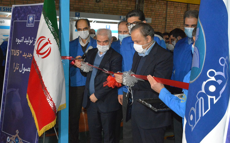 آغاز تولید انبوه نسل جدید موتور TU5 موتور TU5, ایرانخودرو