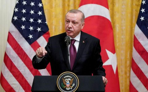 آمریکا ترکیه را به خاطر خرید سامانه دفاعی اس400 از روسیه، تحریم میکند آمریکا, تحریم, ترکیه