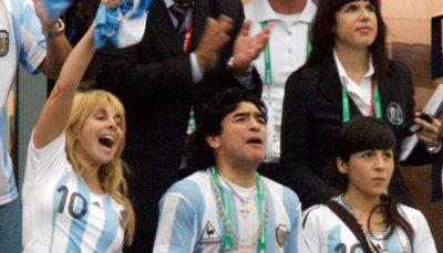 اقدام عجیب مارادونا پیش از مرگ؛ دیهگو دخترانش را از ارث محروم کرد مارادونا