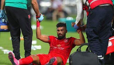 اقدام عجیب و غریب علیه رامین رضائیان فوتبال قطر, رامین رضائیان, الدحیل