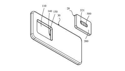 اوپو به فکر ساخت گوشی هوشمند با دوربین قابل تعویض است گوشی هوشمند, اوپو