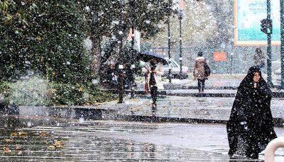 بارش گسترده برف و باران در سراسر کشور بارش برف و باران, هواشناسی ایران