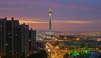 بازگشایی مجدد برج میلاد همزمان با نارنجی شدن تهران