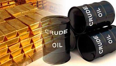 بهای طلا و نفت امروز سه شنبه در بازارهای جهانی بازارهای جهانی, بهای طلا و نفت