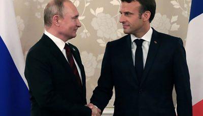 تاکید پوتین و ماکرون بر لزوم تلاش برای حفظ برجام پوتین, حفظ برجام, ماکرون