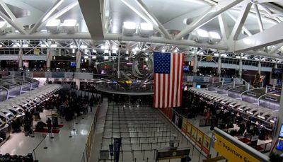 تخلیه یک هواپیما در نیویورک در پی تهدید بمبگذاری