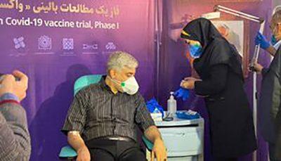 تزریق واکسن کرونای ایرانی به دومین داوطلب علی عسگری, واکسن کرونای ایرانی