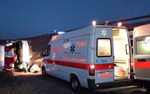 ۲۰ کشته و مصدوم در تصادف مرگبار در مسیر لردگان به ایذه