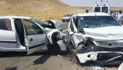 رانندگی در پارسآباد مغان پنج کشته و ۲ مصدوم برجای گذاشت