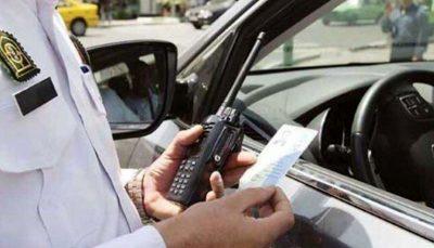 توضیح پلیس راهور درباره جریمه ترددهای غیرمجاز/ فیلم