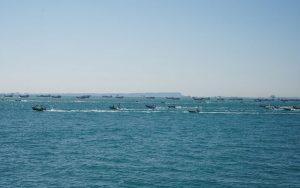 توقیف دو شناور باری حامل قاچاق ۱۵۷ میلیاردی در آبهای گناوه