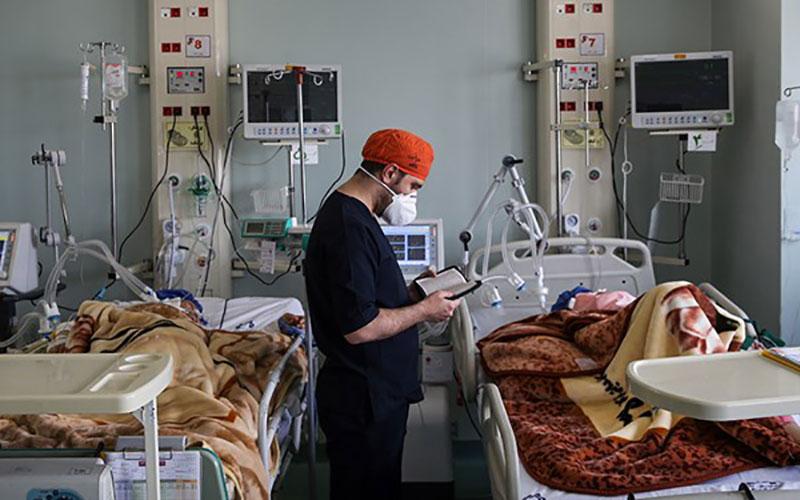 جان باختن ۲۸۴ بیمار کووید۱۹ در کشور کووید۱۹