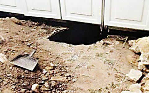 حفر تونل برای سرقت از خانه همسایه حفر تونل, سرقت