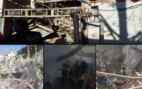خسارت به ۵۱ ساختمان و خودرو در انفجار خرمآباد خرمآباد, انفجار