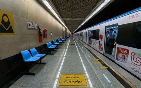 خودکشی در متروی تهران خودکشی, متروی تهران