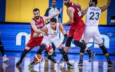 دلایل باخت تیم ملی بسکتبال ایران برابر سوریه و غیبت سرپرست تیم سوریه, تیم ملی بسکتبال ایران