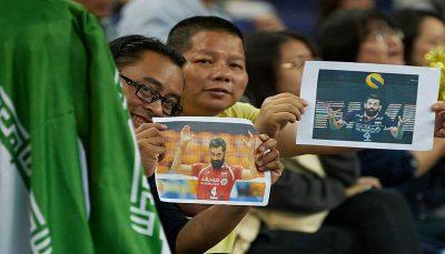 زمان حضور سعید معروف در لیگ والیبال چین مشخص شد لیگ والیبال چین, سعید معروف