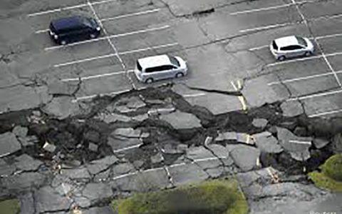 زمین لرزه ۵.۵ دهم ریشتری در ژاپن
