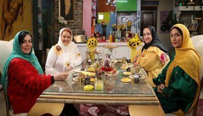 فلور نظری در شام ایرانی فلور نظری, «شام ایرانی», بهاره رهنما