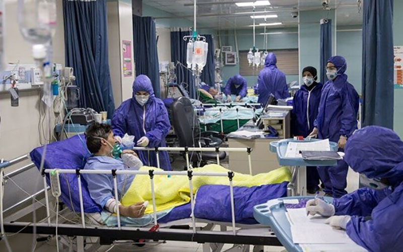 فوت ۳۸۲ بیمار کووید۱۹ در کشور آمار کرونا