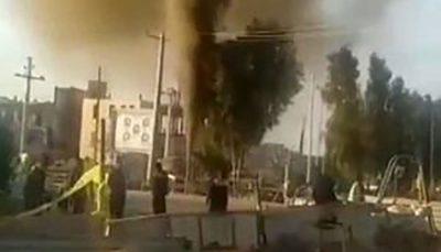 انفجار لوله گاز در شهر بافق، استان یزد