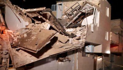 مصدومیت سه نفر بر ثر انفجار گاز شهری در تبریز انفجار گاز شهری, تبریز